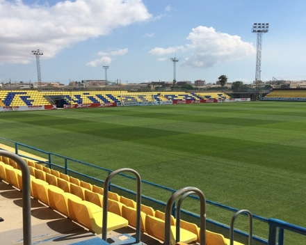 TerraCottem Turf at Villareal training grounds (Villareal B & youth teams), Spain.