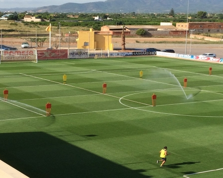 TerraCottem Turf at Villareal training grounds (A team), Spain.
