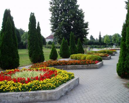 Květinové záhony Otrokovice