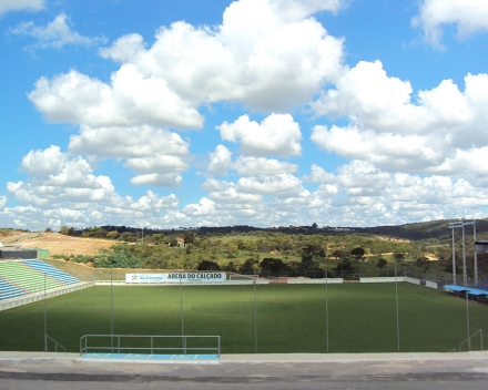 TerraCottem Turf at Arena do Calçado, Nova Serrana, Brazil.