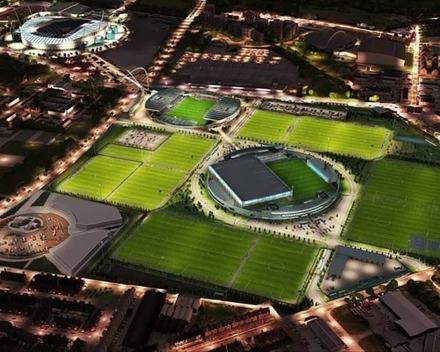 TerraCottem Turf en City Football Academy - Manchester City FC, Inglaterra.