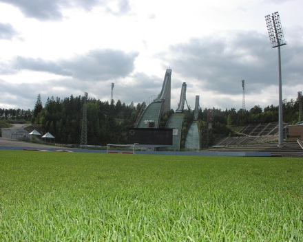 TerraCottem Turf na štadióne Lahden, FC Lahti, Fínsko.
