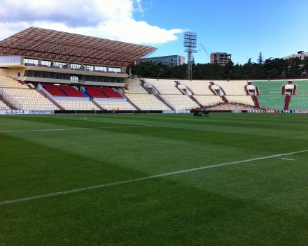 TerraCottem Turf na Mikheil Meskhi Stadion - Lokomotivi Tbilisi, Gruzija.