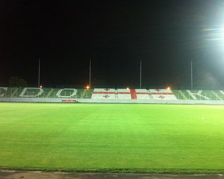 TerraCottem Turf na Givi Kiladze stadionu - Torpedo Koetaisi, Gruzija.