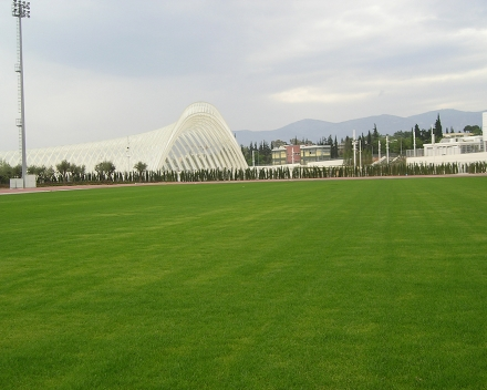 TerraCottem Turf at OAKA - Athens Olympic Sports Complex, Athens, Greece.