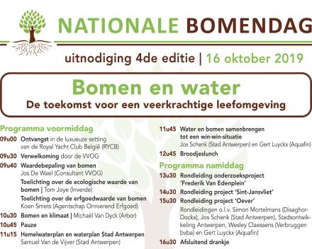 4de editie NATIONALE BOMENDAG was opnieuw een groot succes