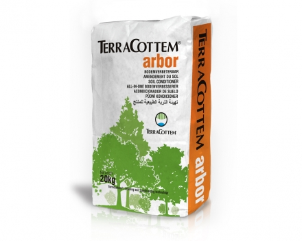 TerraCottem Arbor is available in 20 kg bags.