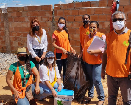 Planting trees and cleaning up backyards to prevent dengue fever