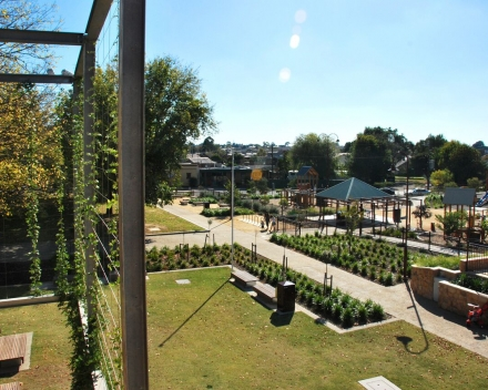 Ruth's contribution to the area around Maryborough's station has given this Victorian rural community an interesting, functioning and adaptable space. The vegetation will grow and so will the number of ways in which the precinct is used.