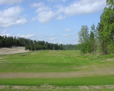 La technologie environnementale TerraCottem au Golf Vuosaari, Finlande.