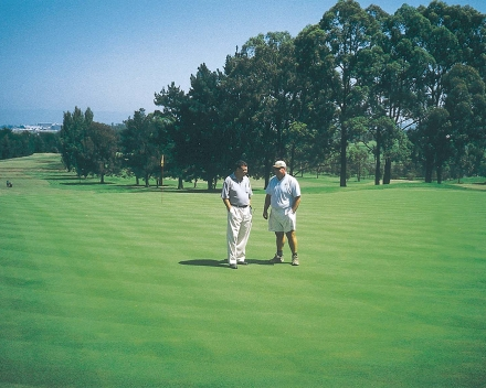 TerraCottem soil conditioning technology at Windsor Golf Club, Australia.