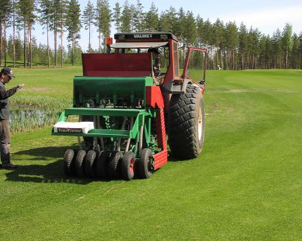 Vierumäki Golf, Finlandiya'da TerraCottem toprak iyileştirme teknolojisi.