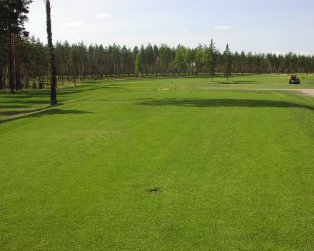 TerraCottem tehnologija oplemenjivača zemljišta u Vierumäki Golf terenima, Finska.