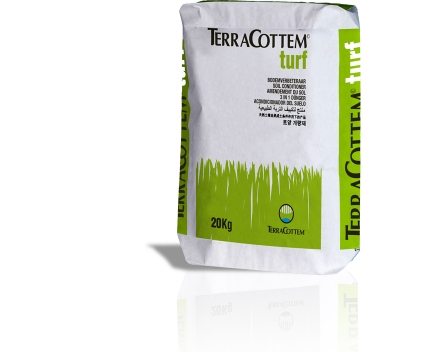 TerraCottem Turf is available in 20 kg bags.