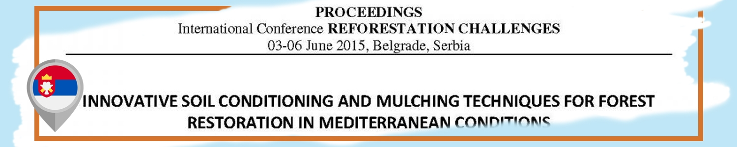 Proceedings International Conference on Reforestation Challenges