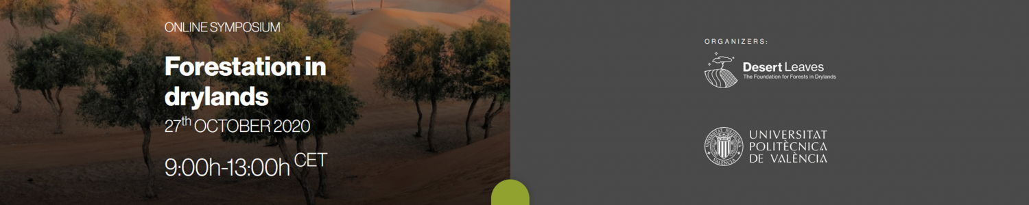 "First online symposium ""Forestation in drylands"""