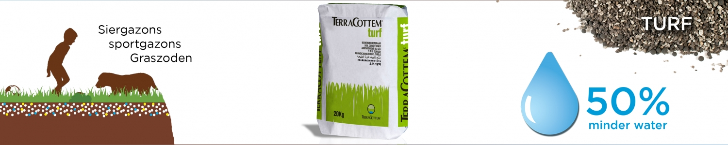 TerraCottem Turf - 20kg